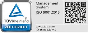 ISO-9001-Zertifiziert